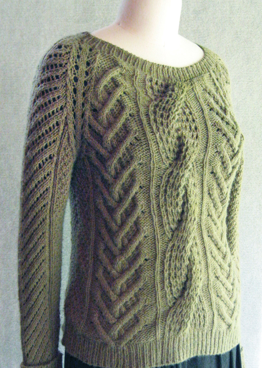 Fisherman Knit Sweater Pattern : Sunday Knits - whats new