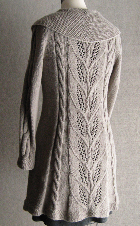 Knitting Patterns Cardigan Jacket - Bronze Cardigan