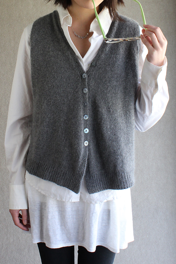 Knitting Pattern Vest : Sunday Knits - vest patterns & kits