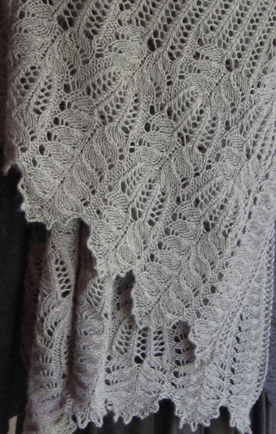 Knitting Lace Pattern In The Round : Pachelbel