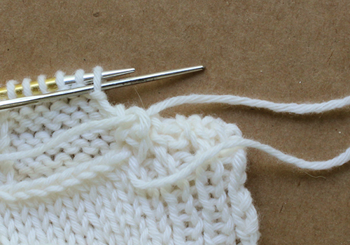 Sunday Knits Techniques Grafting Live To Bound Off Stitches With